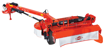 FC 3161 TL mower conditioner profile