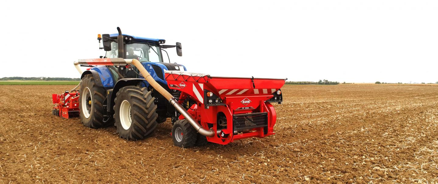 TF 1512 at work in the field